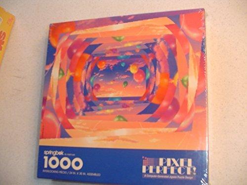 Springbok Pixel Perfect  1000 Pc Jigsaw Puzzle by Springbok