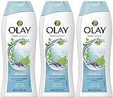Olay Body Wash - Fresh Outlast - Purifying Birch Water & Lavender - Net Wt. 13.5 FL OZ (400 mL) Per Bottle - Pack of 3 Bottles