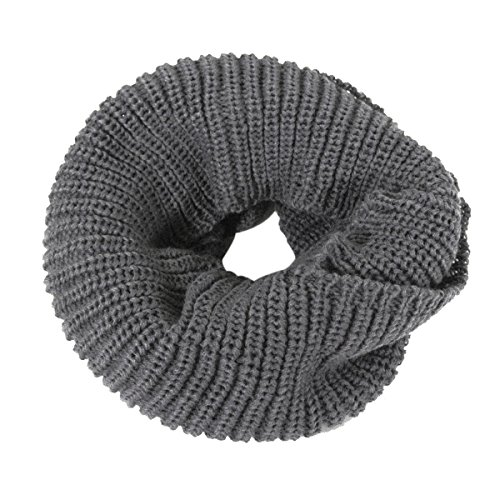 Wrapables Thick Knitted Winter Warm Infinity Scarf