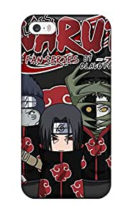 Premium Akatsuki Back Cover Snap On Case For Iphone 5/5s