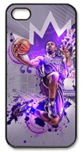 Icasepersonalized Personalized Protective Case for iPhone 5/5S - NBA Sacramento Kings #13 Tyreke Evans