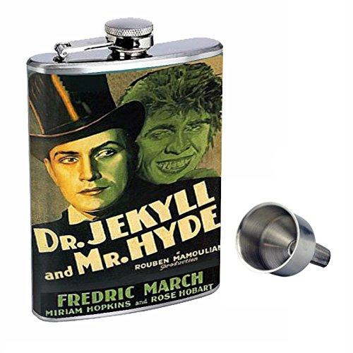 最適な価格 Dr。Jekyll and Mr Perfection。Hyde d-396 Perfection Dr。Jekyll inスタイル8オンスステンレススチールWhiskey Flask with Free Funnel d-396 B015QLFD5Y, セッツシ:fc0a0c01 --- nobumedia.com
