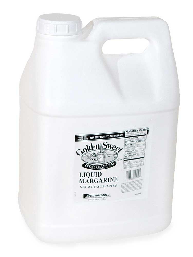Ventura Foods Gold N Sweet Liquid Margarine, 17.5 Pound -- 2 per case. by Ventura Foods