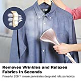 Finether 2-in-1 Stand Garment Steamer, Heavy Duty Powerful Stand Clothes Fabric Steamer with Steamboard, 9 Steam Levels, Garment Hanger, Anti-Scald Gloves and Fabric Brush For Home and Commercial Use