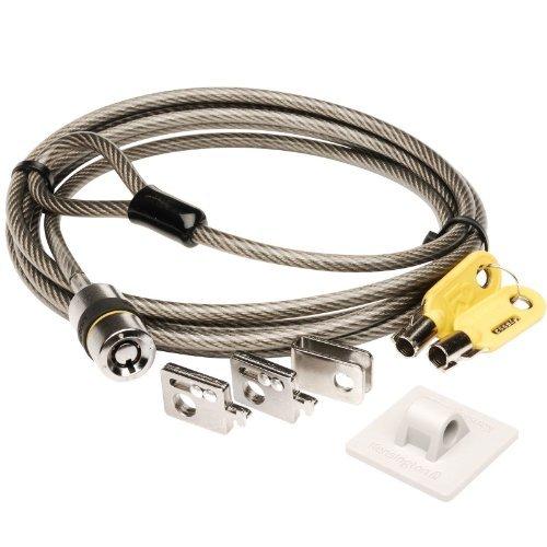 Acco Anchor - Kensington Laptop/computer K64615us Desktop & Peripherals Locking Kit *New*