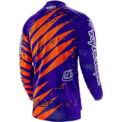 2016 Troy Lee Designs Youth GP Vert Jersey-Purple-YM by Troy Lee Designs (Image #2)