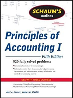 Schaums outline of intermediate accounting i second edition schaums outline of principles of accounting i fifth edition fandeluxe Choice Image