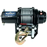 MotoAlliance VIPER Midnight ATV/UTV Winch 4500lb