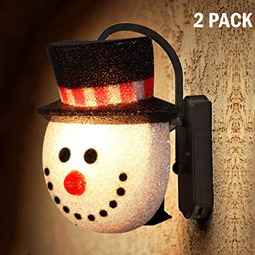 Outdoor Snowman Light Covers in US - 4