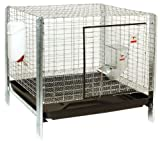 Little Giant Farm & Ag Miller Manufacturing RHCK1 Complete Rabbit Hutch Kit