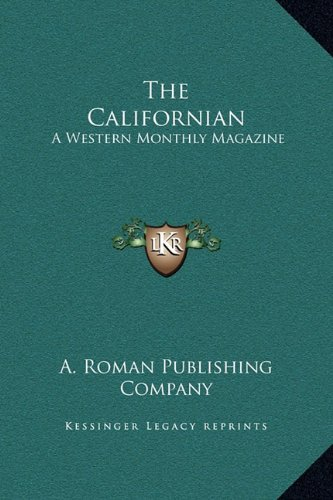 Download The Californian: A Western Monthly Magazine: January-June, 1880 (1880) pdf epub