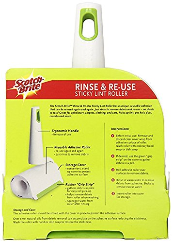 Scotch-Brite Rinse and Reuse Lint Roller - 2 PACK