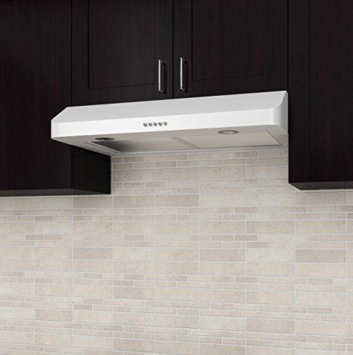Best Ancona Slim DW1R 280 CFM Under Cabinet Range Hood 30 Inch Reviews From