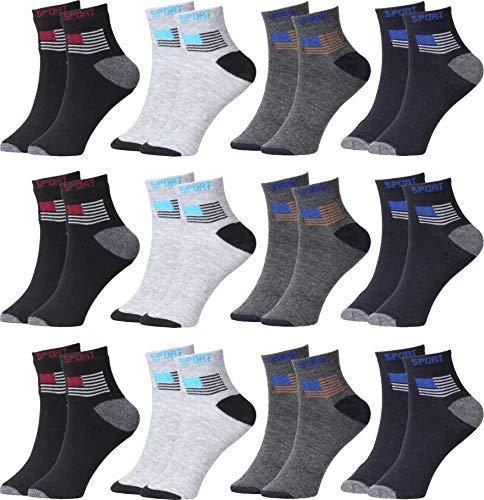 Men #39;s Ankle Length Cotton Socks