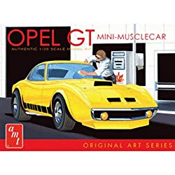 AMT AMT729/12 1/25 Buick Opel GT Original Art Series White AMTS0729 from Amt