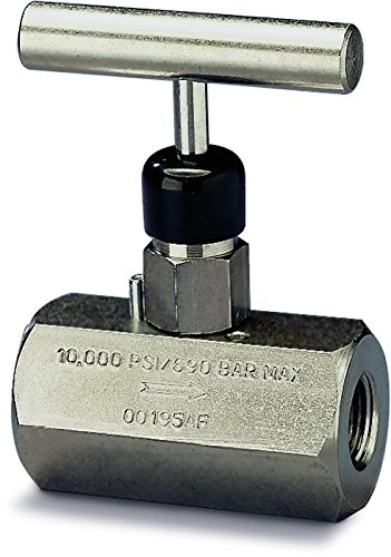 Enerpac V-82 Needle Valve, 0 to 10,000 psi by Enerpac