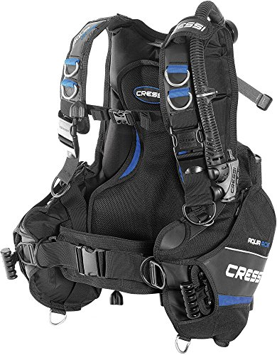 Cressi Aquaride Blue Pro Buoyancy Compensator Device, Medium