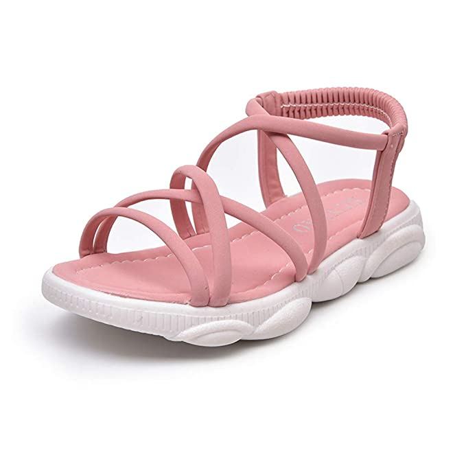 e4fb4ca24ed26 Amazon.com: Baby Girls Sandals for 3-13 Years Little Kid Summer ...