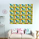 Baby Wall Tapestry Cute Colorful Summer Trees Kids Playroom Girls Boys Childish Branches
