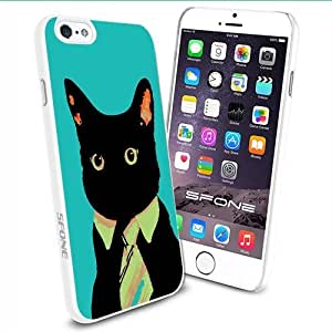 Working Cat Apple Smartphone iPhone 6 4.7 inch Case Cover Collector TPU Soft White Hard Cases