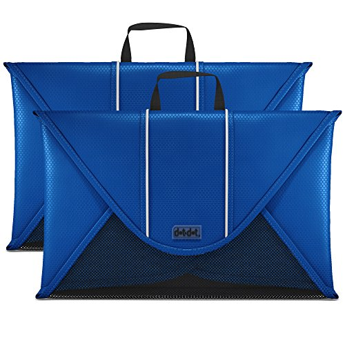 Dot&Dot 18 Inches Packing Folder Backpack Accessory to Avoid Wrinkled Clothing (2-piece set, Dark Blue)