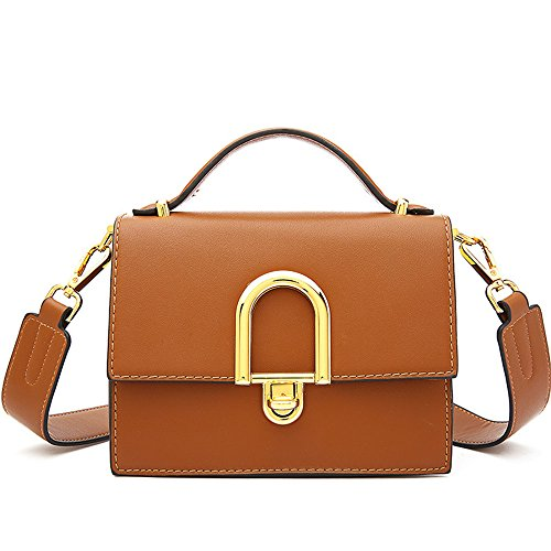 Marrone Fashion Crossbody Small Package Shoulder Per Libero Borsa Purse Bags Totes Pu Dasexy Buckle Square Tracolla Messenger Tempo A Shoppi Ampia Il T1xqZwA