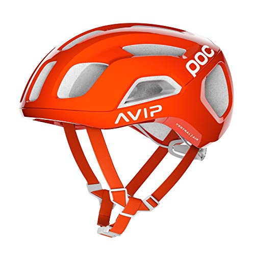 Velocity Off Road Helmet - POC - Ventral Air Spin (CPSC), Zink Orange AVIP, Medium