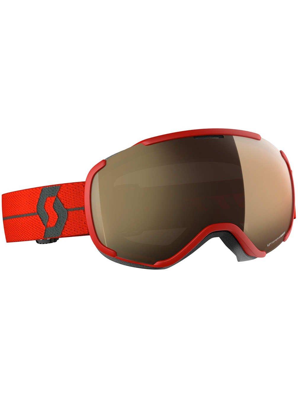 Scott Herren Schneebrille Faze II LS Red Goggle
