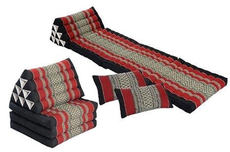 Doble Repose Set: cojines y almohadas en tailandés ...