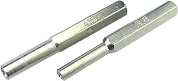 Security Bit Steel SET 3.8mm 4.5mm Screwdriver Tool To Open NES SNES N64 Gameboy Sega Game Carts