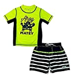 Carter's Boys' Short Sleeve Rash Guard Set