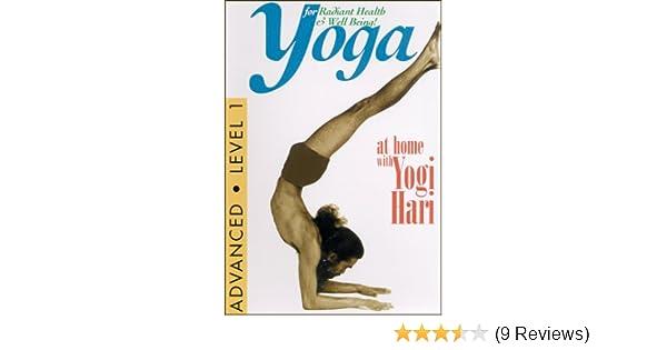 Amazon.com: Yoga at Home With Yogi Hari: Advanced Level 1 ...