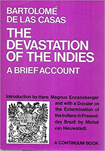 brief account of the devastation of the indies