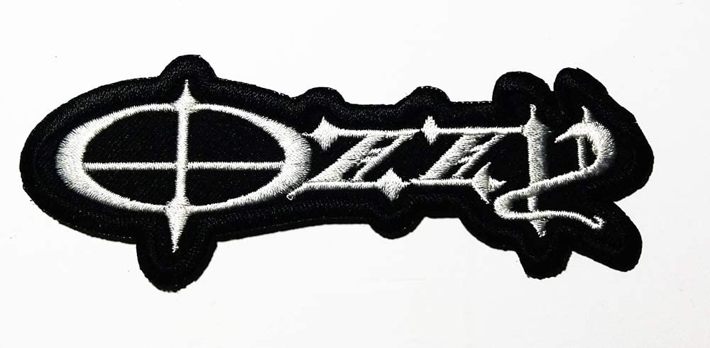 Music O Heavy Metal Doom Metal Hard Rock Music Band Logo Patch Embroidered Sew Iron On Patches Badge Bags Hat Jeans Shoes T-Shirt Applique