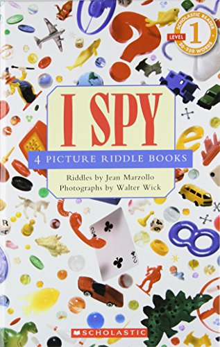 Scholastic reader, Level 1: I Spy 4 Picture Riddle Books