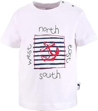 Stummer T-Shirt for Boys, White, 21102_1