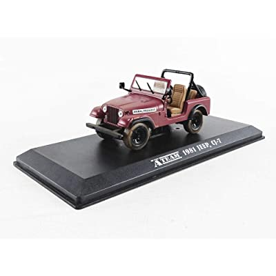 Greenlight 86528 1: 43 The A-Team (1983-87 TV Series) - Jeep CJ-7: Toys & Games
