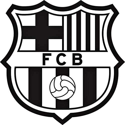 Amazon Com Fc Barcelona Die Cut 4 Quot Vinyl Auto Decal Or