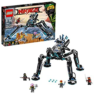 LEGO Ninjago Movie Water Strider 70611 Building Kit (494 Piece)