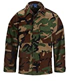Propper Men's BDU Coat, Woodland, Medium Regular