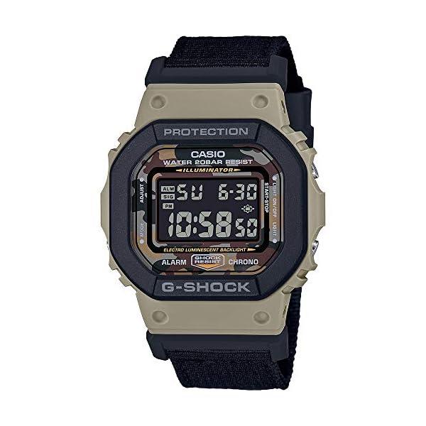 G-Shock Reloj Digital para de los Hombres de Cuarzo con Correa en Nailon DW-5610SUS-5ER 2