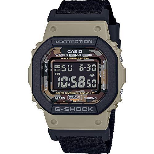 G-Shock Reloj Digital para de los Hombres de Cuarzo con Correa en Nailon DW-5610SUS-5ER 1