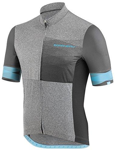 Louis Garneau - Men's Equipe 2 Lightweight, Short Sleeve, Full Zip Cycling Jersey, Neo-Classic, - Light Neo Classic One