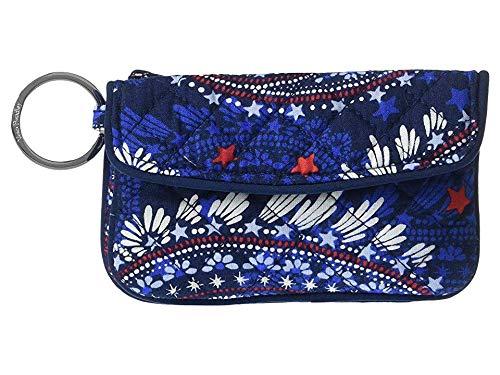 - Vera Bradley Women's Iconic Jen Zip ID Fireworks Paisley One Size