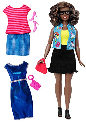 (Barbie Fashionistas Doll & Fashions Emoji Fun, Curvy)