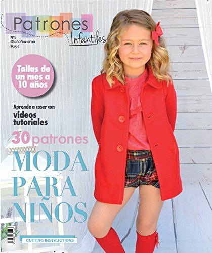Magazine Children\'s Sewing Patterns, No. 5. Fashion otoño-inviervo ...