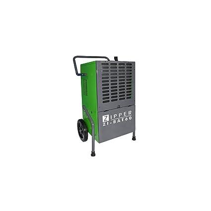 Deshumificador industrial profesional Zipper ZI-BAT50 680 m³ / h secador humedad