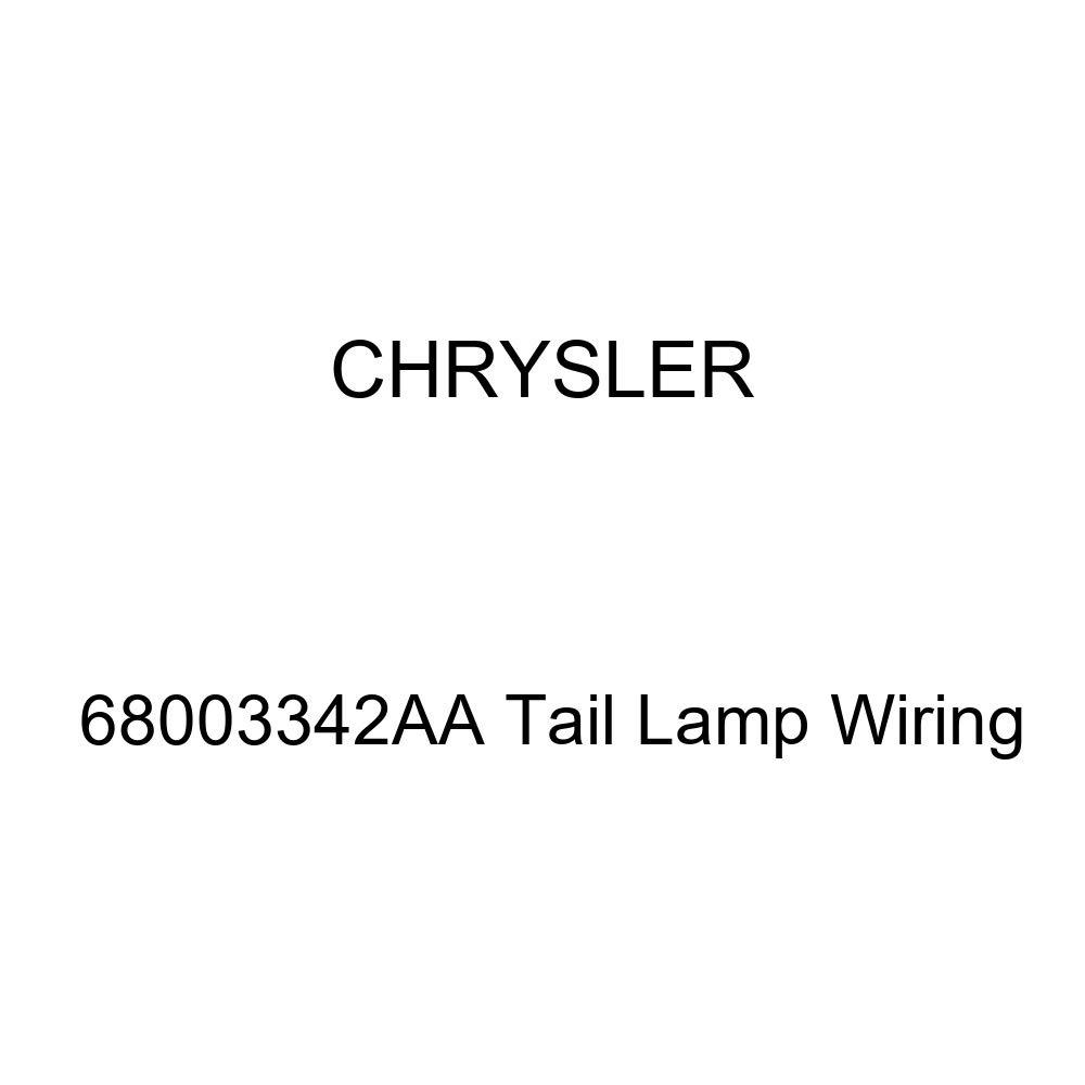 Genuine Chrysler 68003342AA Tail Lamp Wiring