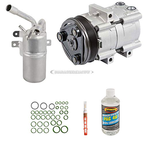 - AC Compressor w/A/C Repair Kit For Ford Focus 2004 2005 2006 2007 - BuyAutoParts 60-81466RK NEW