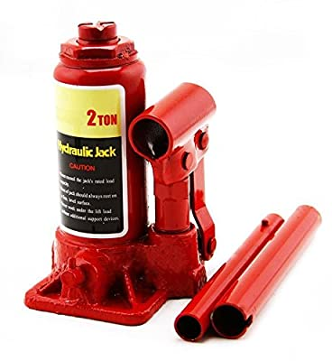KCHEX>New 2 Ton Hydraulic Bottle Jack 4000lb Lift Heavy Duty Automotive Car Compact>Compact Structure Easy Operation and Repair Durable for Strenuous Use